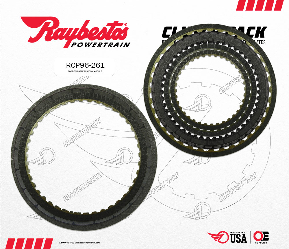 AB60E, AB60F Friction Clutch Pack