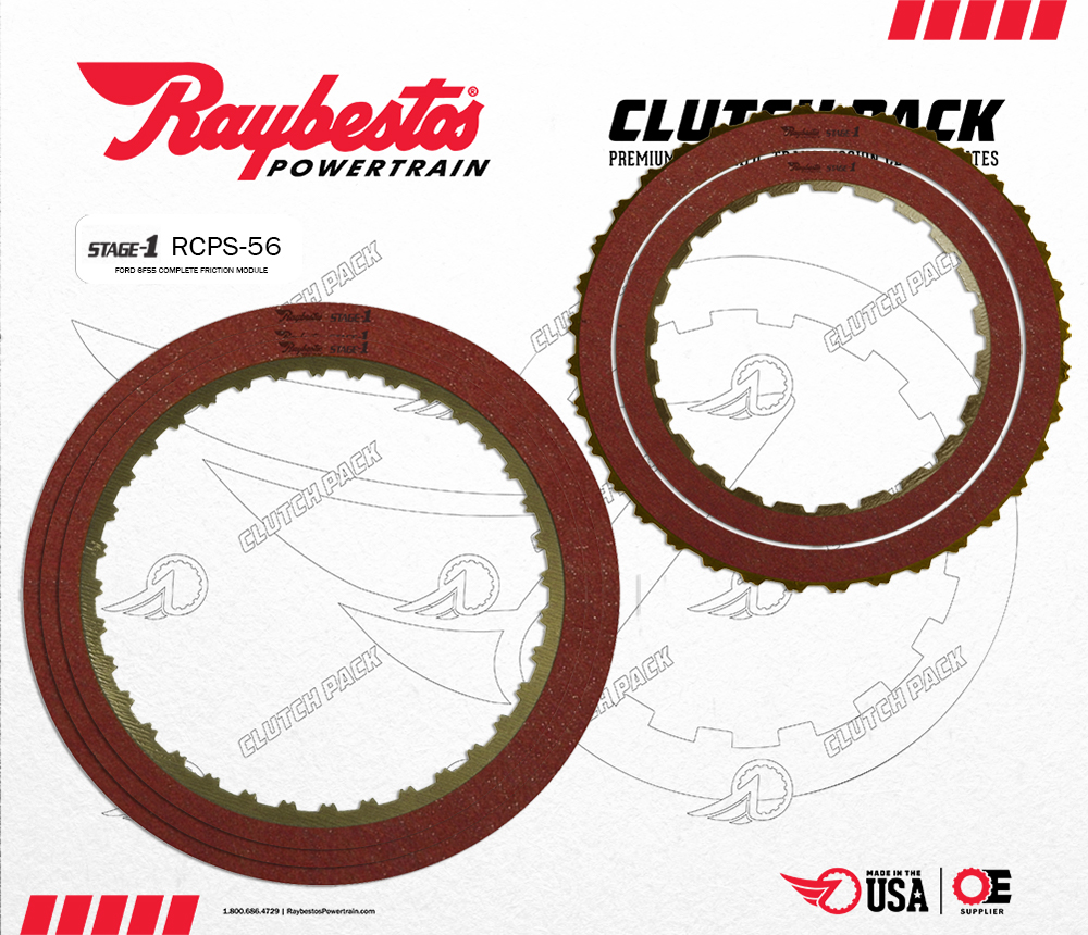 6F55 Stage-1 Friction Clutch Pack Module
