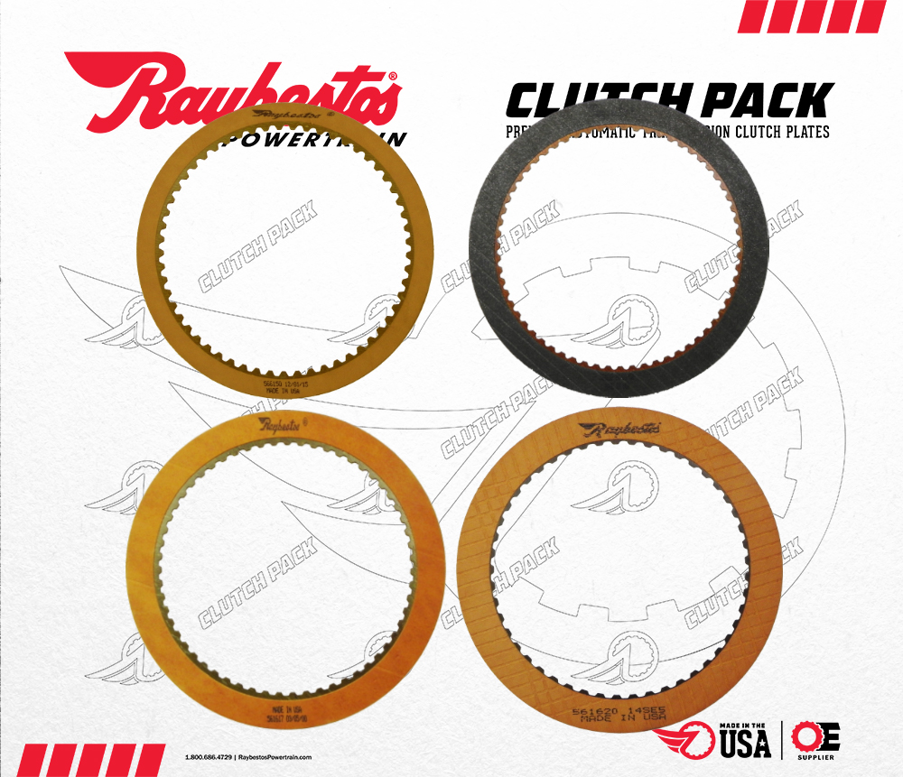 AX4N Friction Clutch Pack