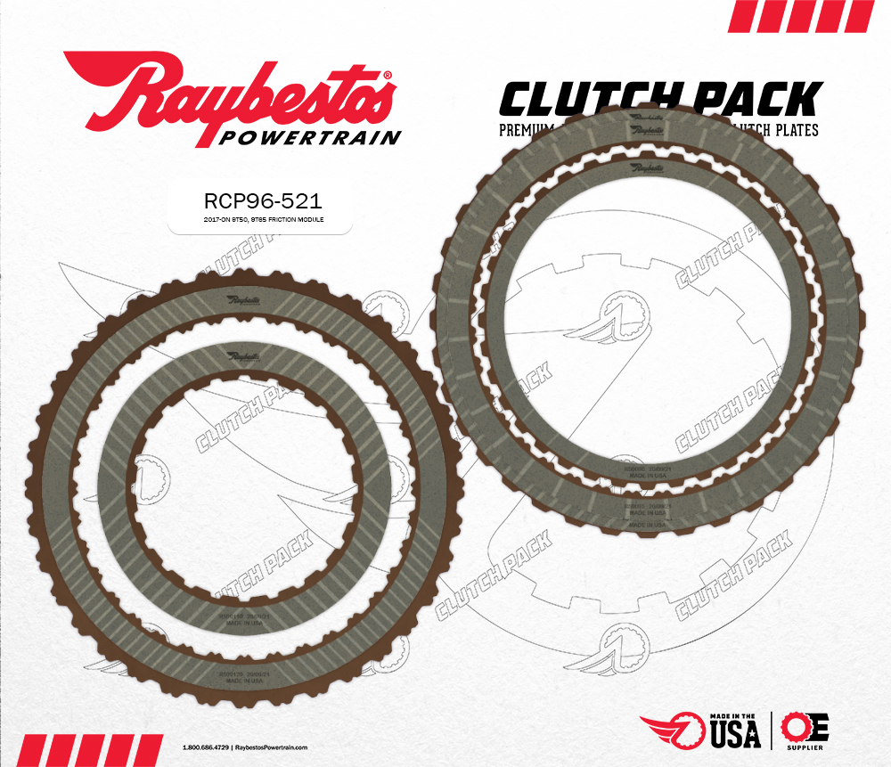 9T50, 9T65 High Energy Friction Clutch Pack Module