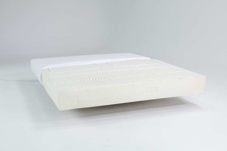 Zenna latex mattress floating