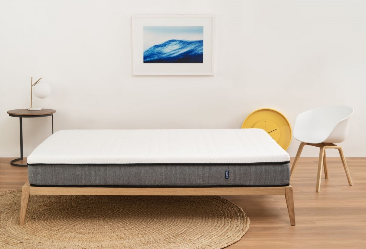 Ecosa mattress on bed frame