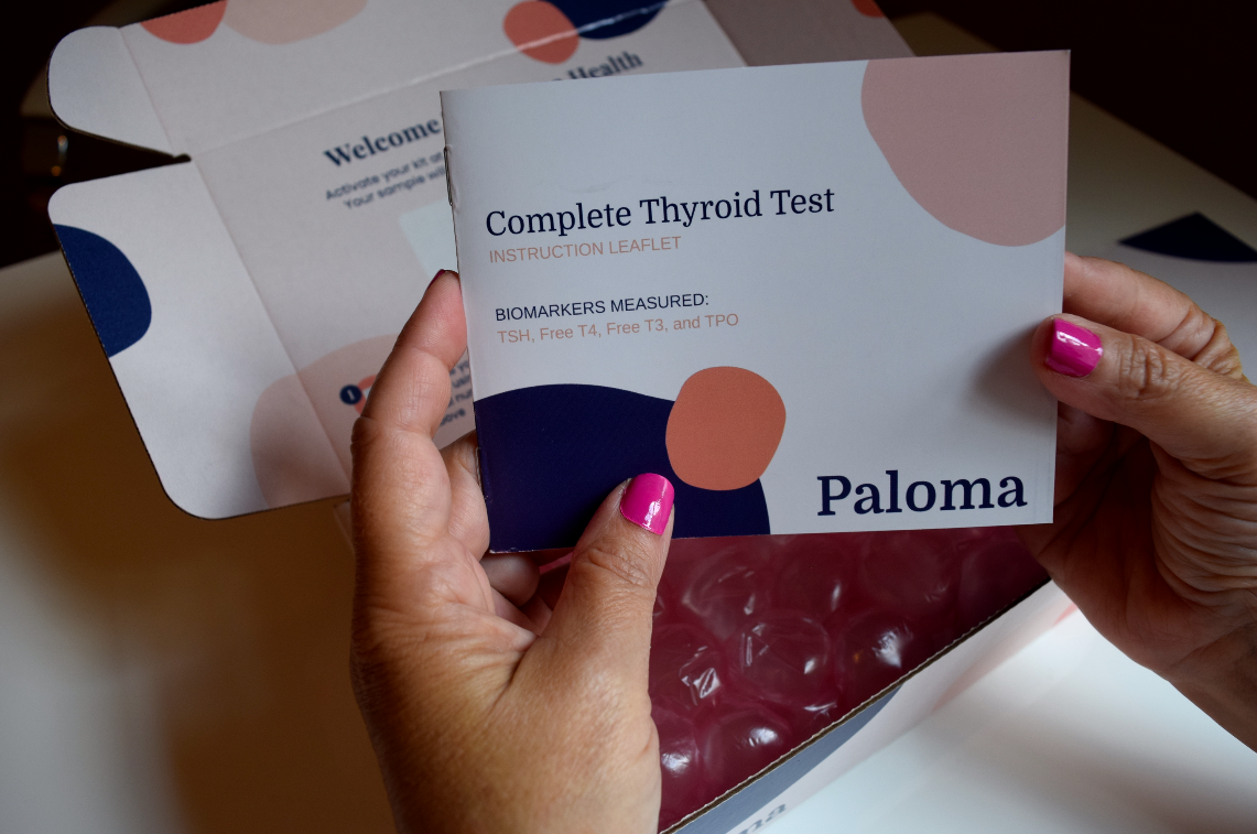 My Experience Using the Paloma Test Kit