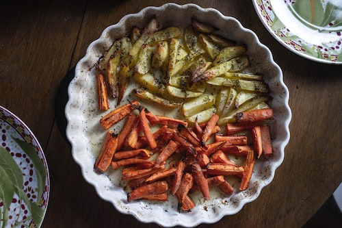Thyroid Recipe: Honey and Spice Roasted Carrots