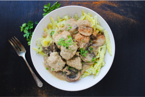 Thyroid Recipe: Swedish Meatballs