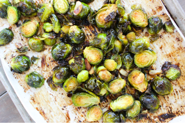Thyroid Recipe: Garlicky Balsamic Brussels Sprouts