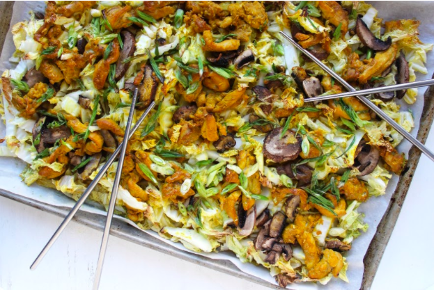 Thyroid Recipe: Lemongrass Chicken Sheet Pan Dinner
