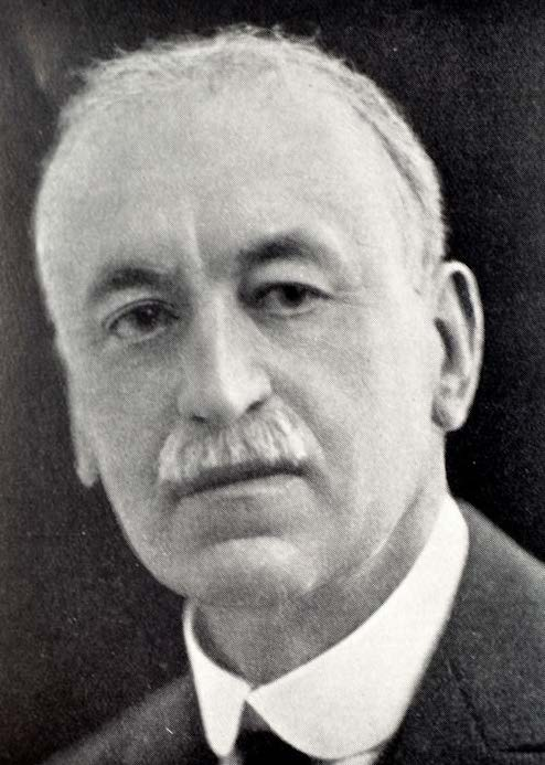 Black and white photograph of Dr. George Redmayne Murrary, English physician who pioneered thyroid treatment