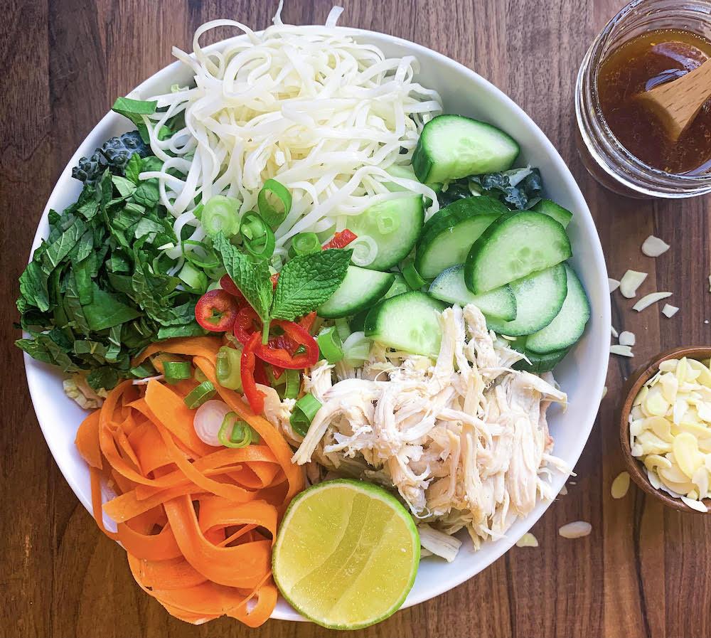 Thyroid Recipe: Vietnamese Chicken Salad