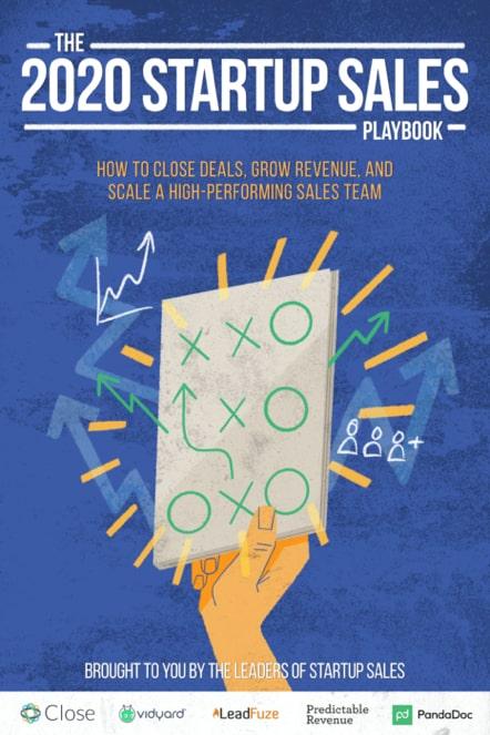 Startups Sales Playbook 2020