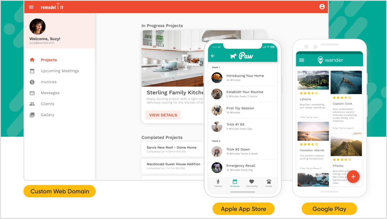 פיתוח אפליקציות לאנדרואיד ואייפון עם Adalo