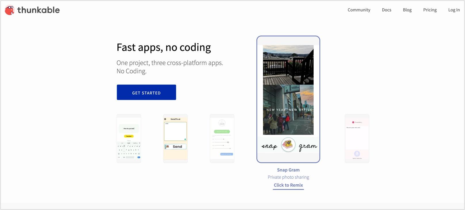 פיתוח אפליקציות לאנדרואיד ואייפון עם Thunkable
