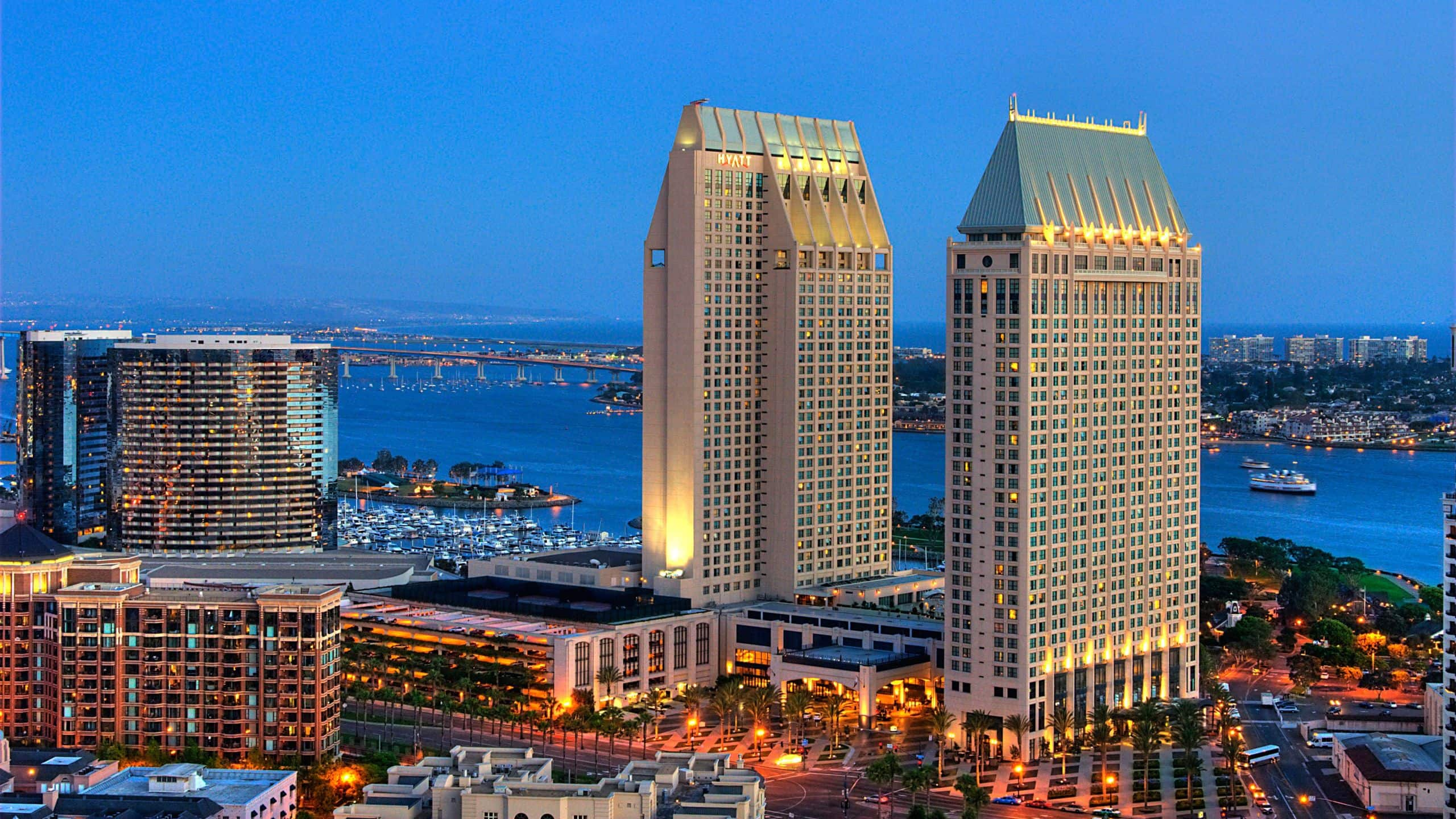 Manchester Grand Hyatt San Diego - Book with free breakfast, hotel credit,  VIP status and more