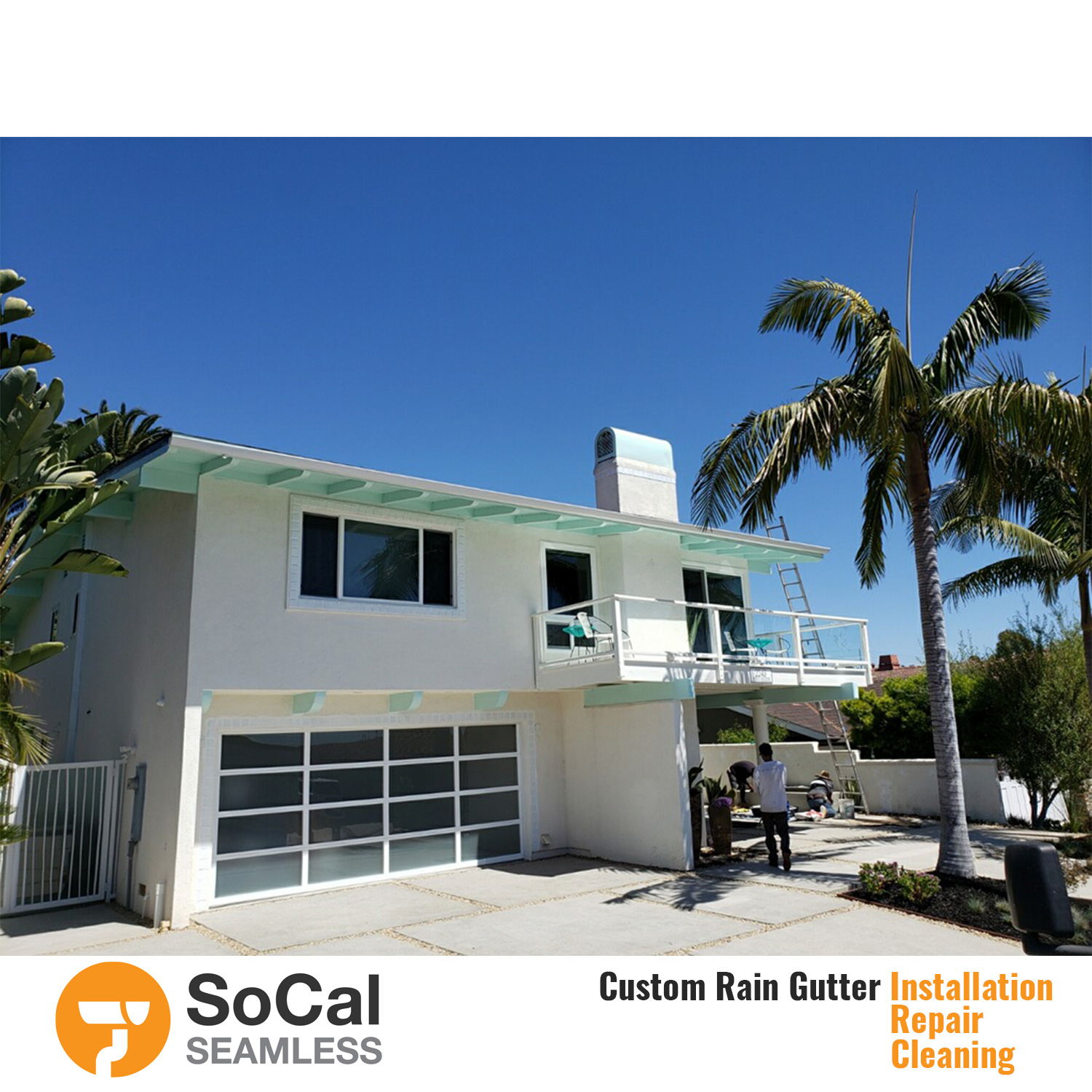 Free Estimate Socal Seamless Rain Gutter Services