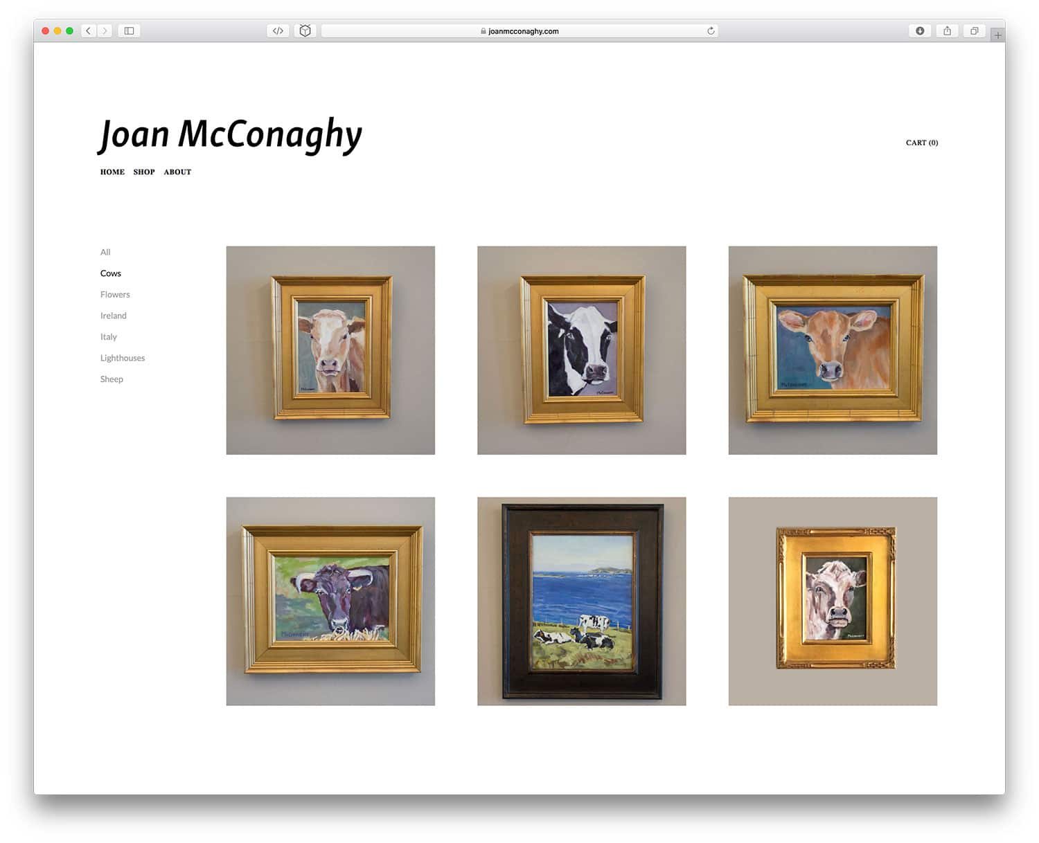 Joan McConaghy Store