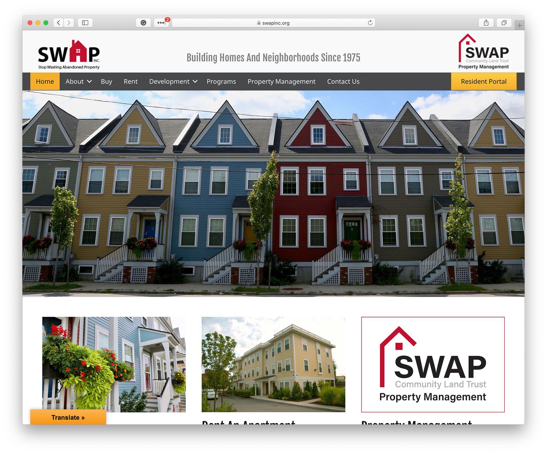 SWAP homepage