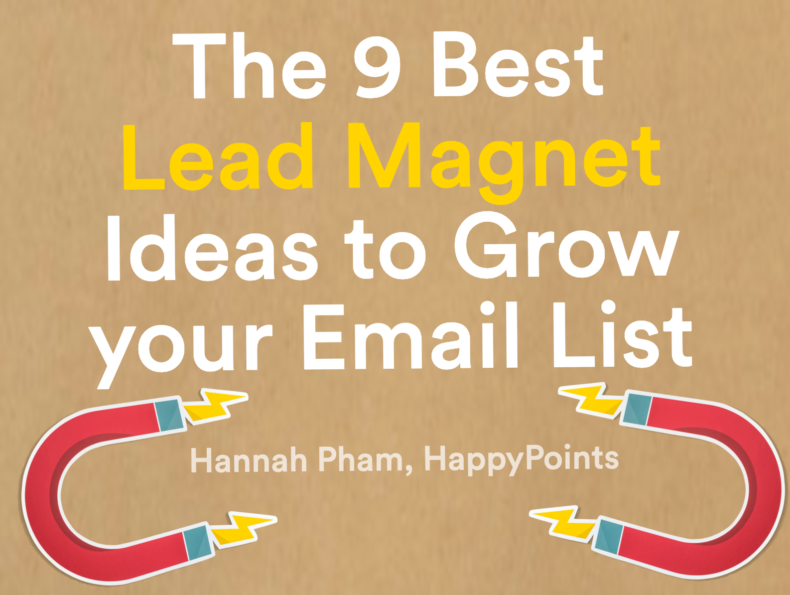 9 Best Lead Magnet Ideas To Grow Your Email List Cartkit