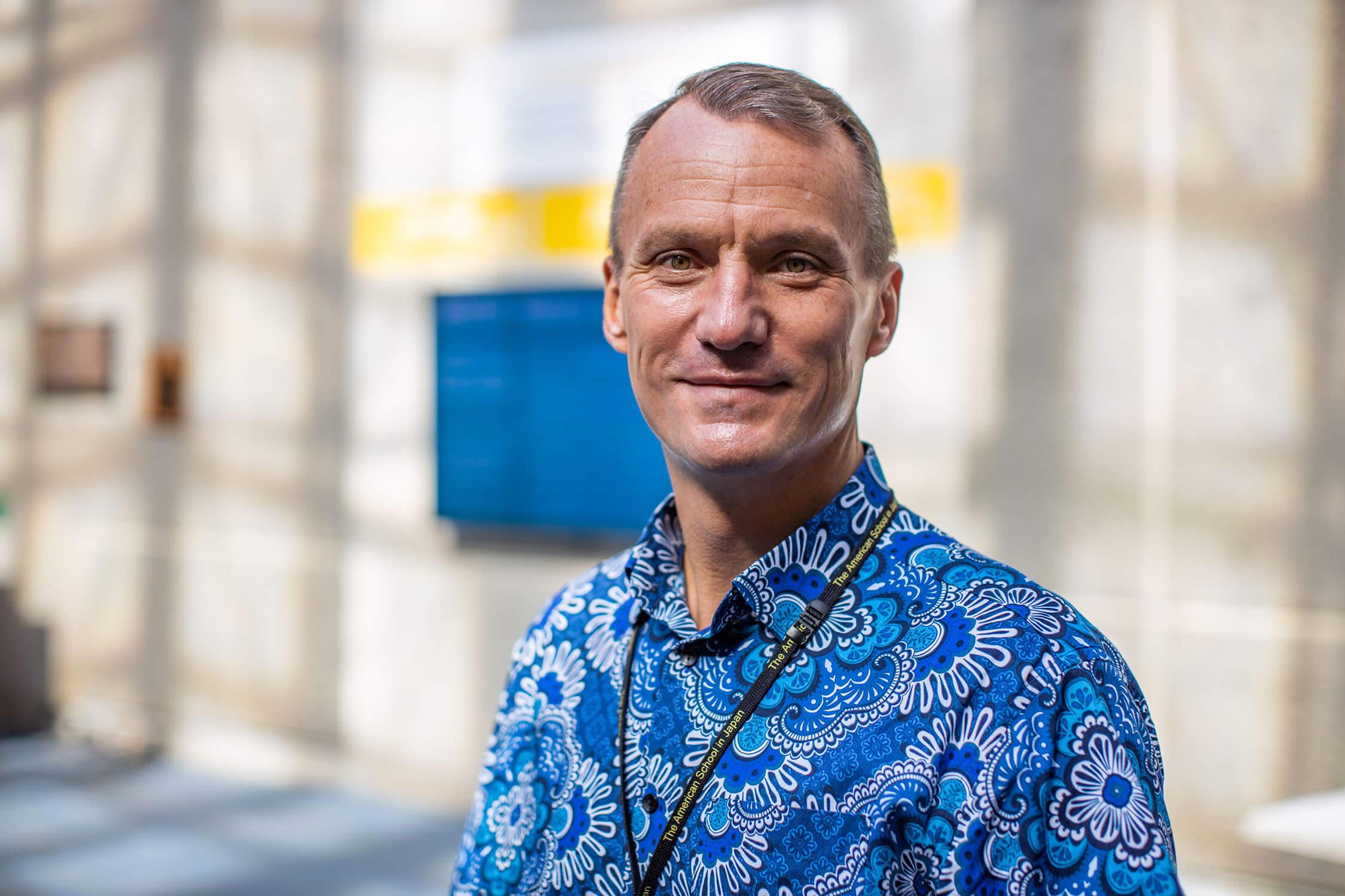 Marc Vermeire, Middle School Associate Principal