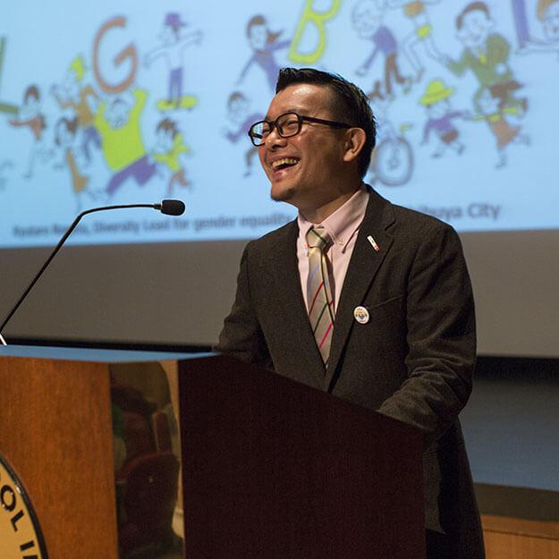 Ryutaro Nagata Speaks at ASIJ