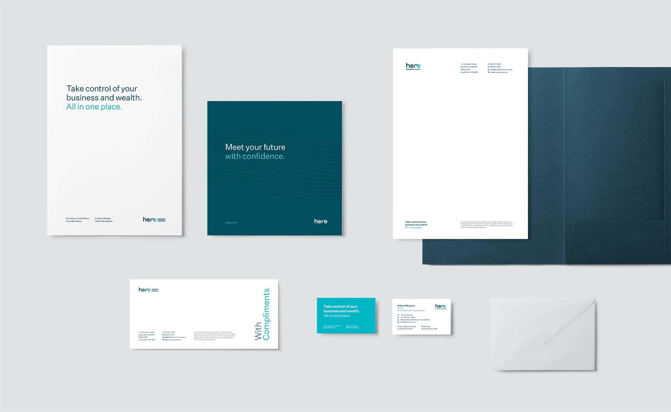 Brand Snapshot - Here Business & Wealth