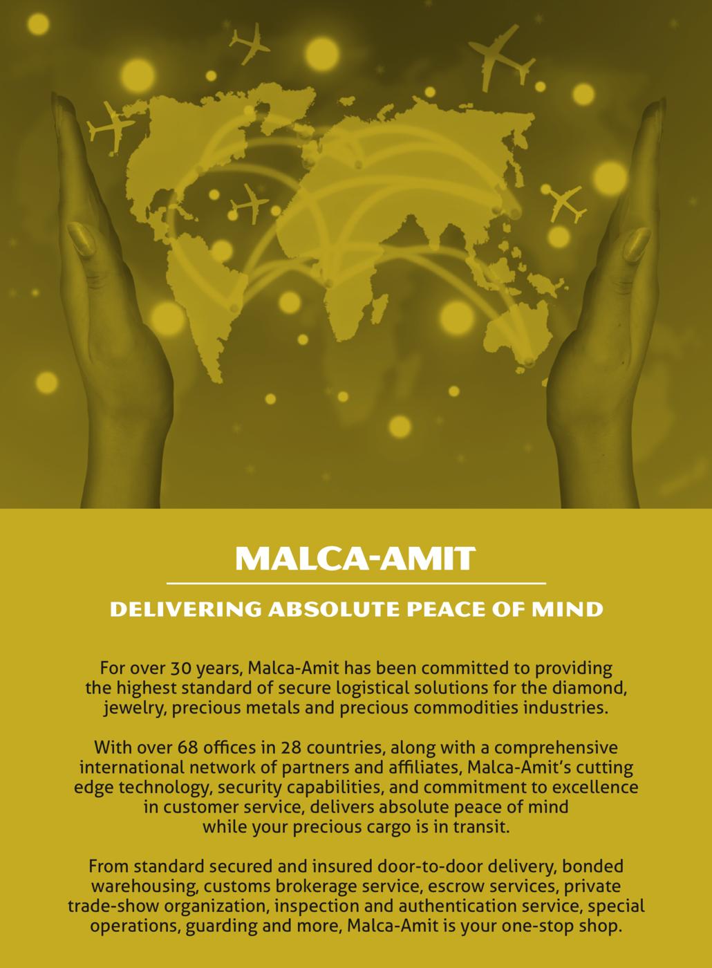 Malca-Amit Brochures