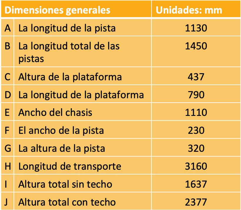 dimensiones miniexcavadora XN16