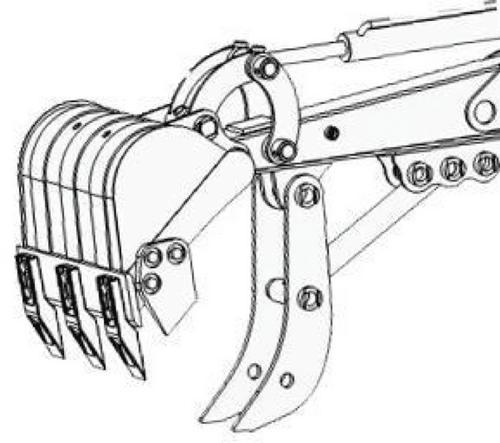 POUCE MINI PELLE RHINOCEROS XN18