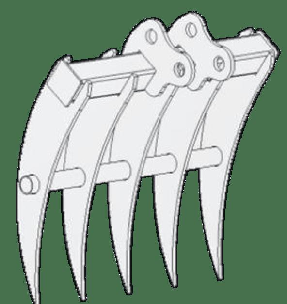 RATEAU MINI PELLE RHINOCEROS XN18