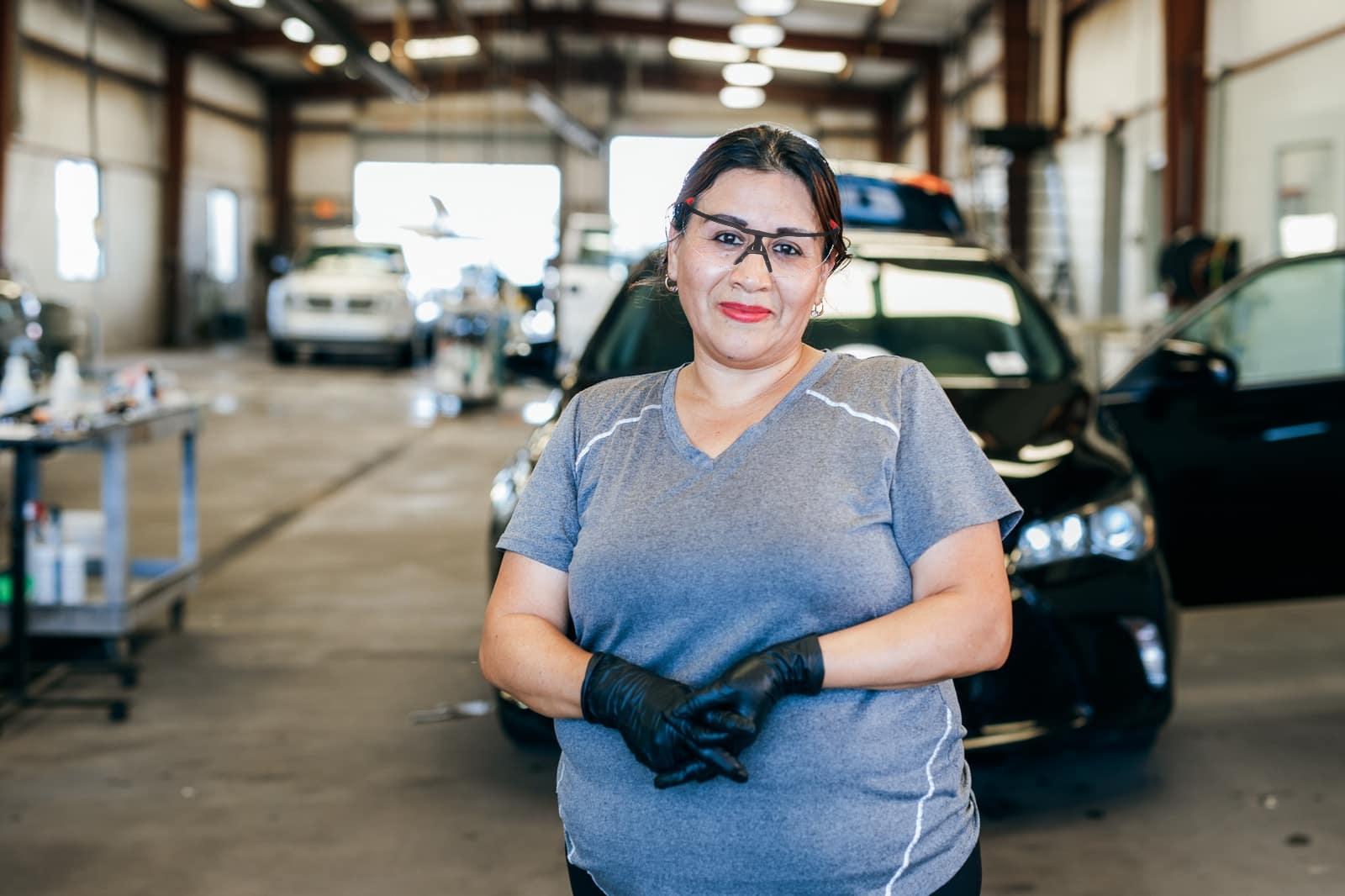 Happy Cars employee