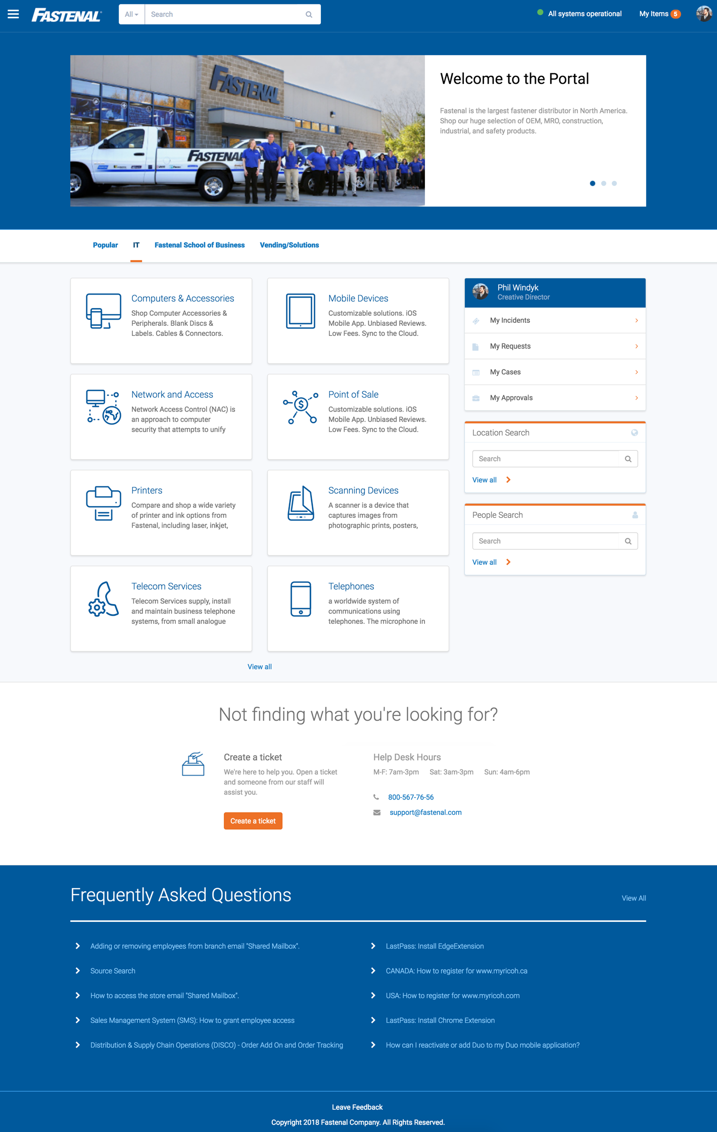 Screen UI