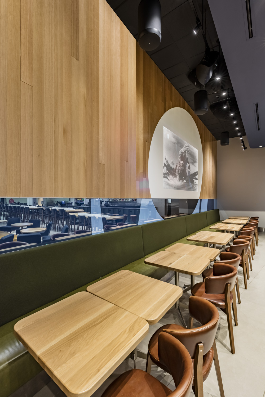 Foodcourt at ATL restaurant design
