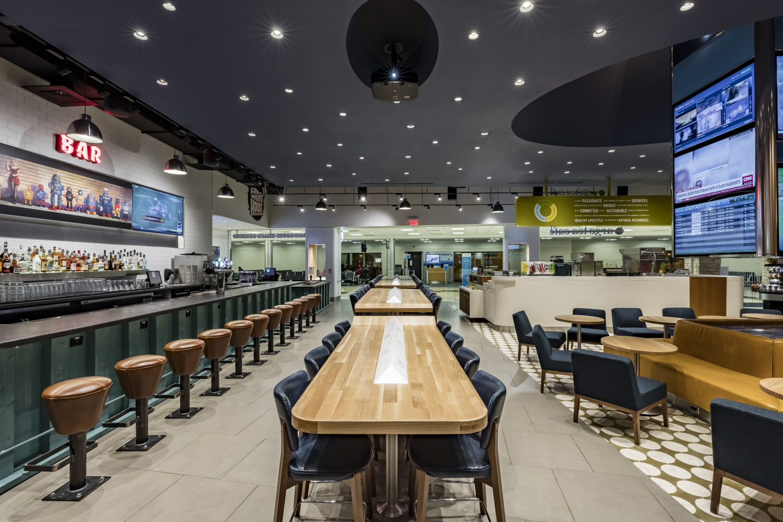 Foodcourt at ATL restaurant modern design