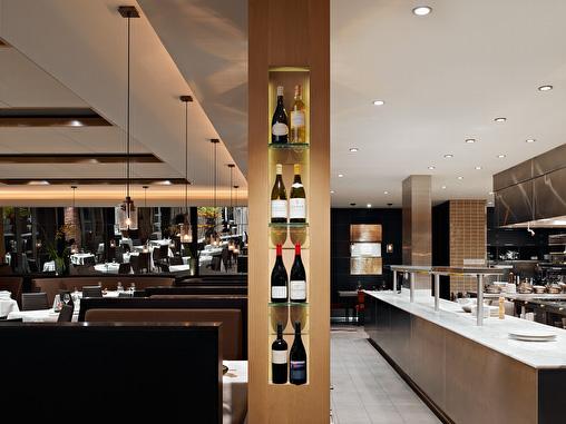 La Toque restaurant interiors