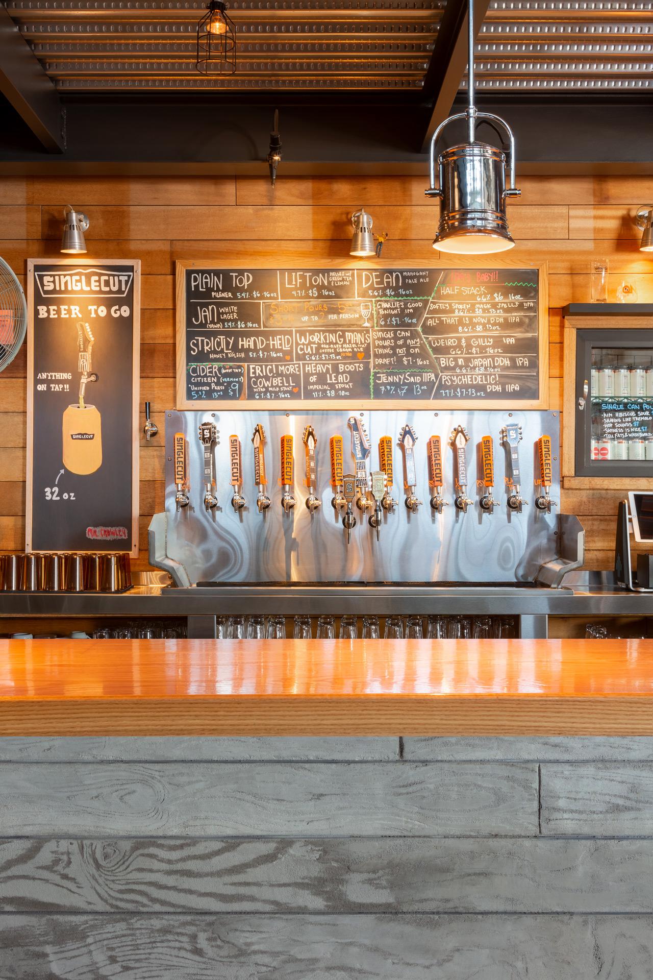 Singlecut Beersmiths restaurant design