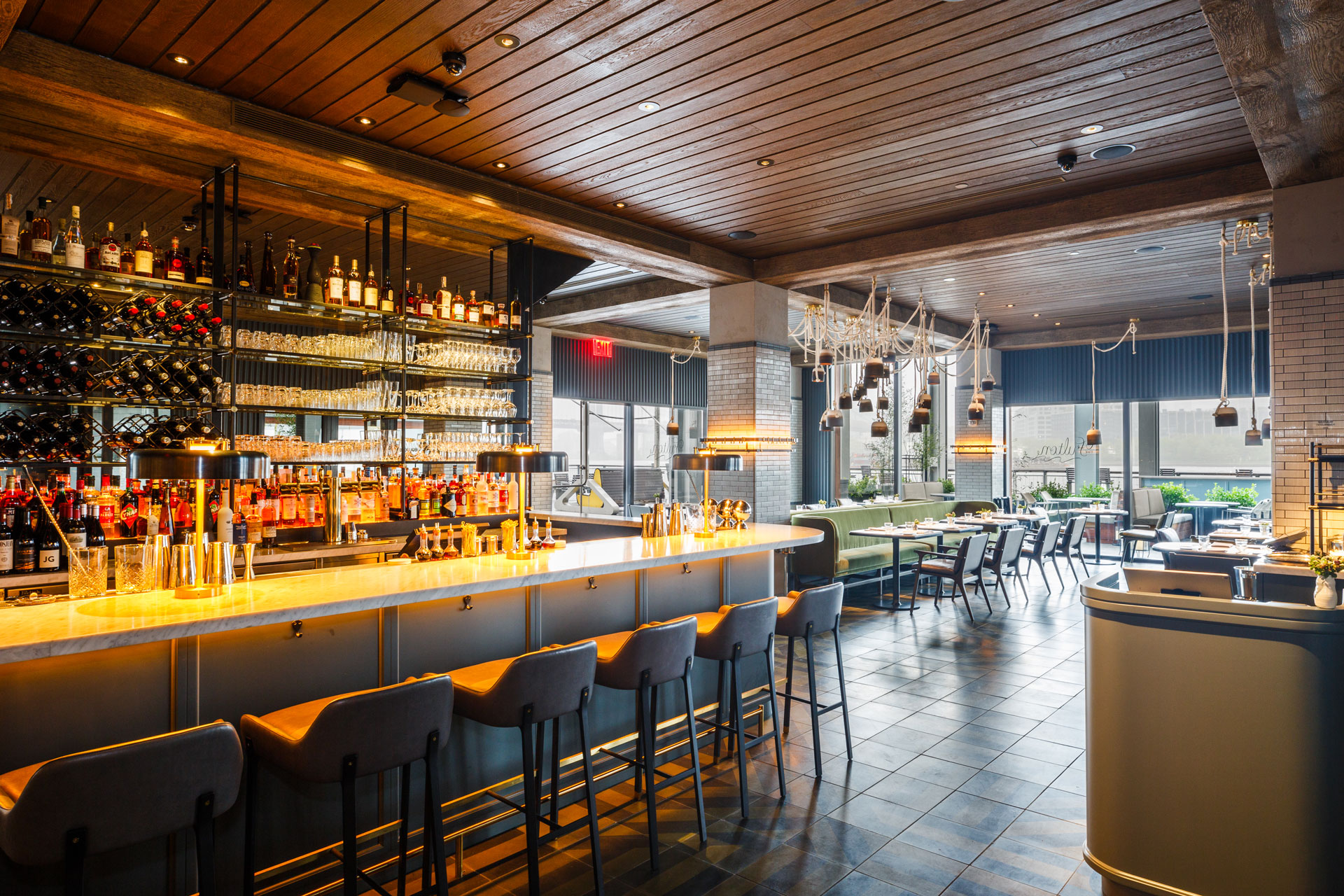 The Fulton restaurant designer