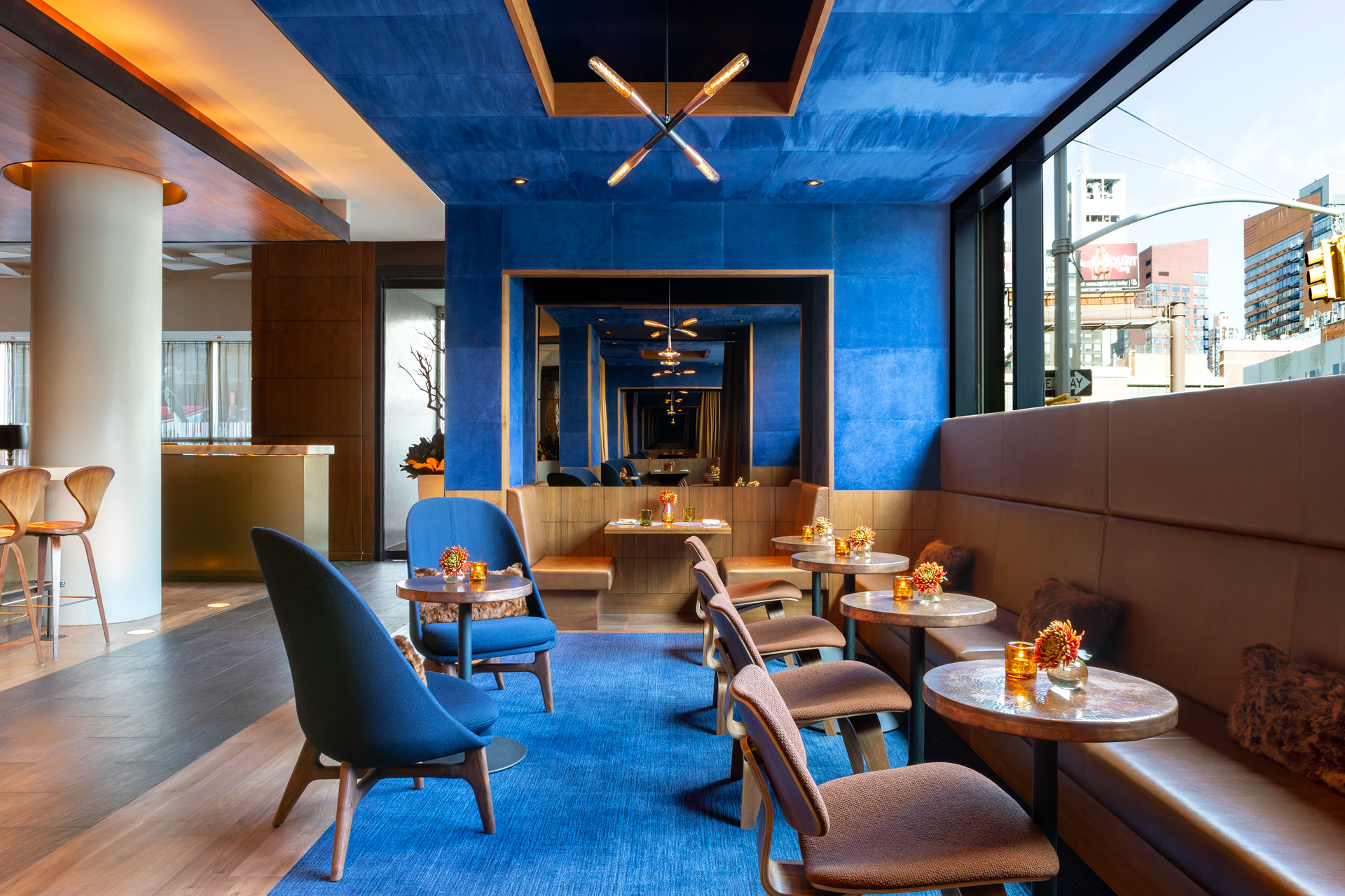 Print Lounge modern restaurant