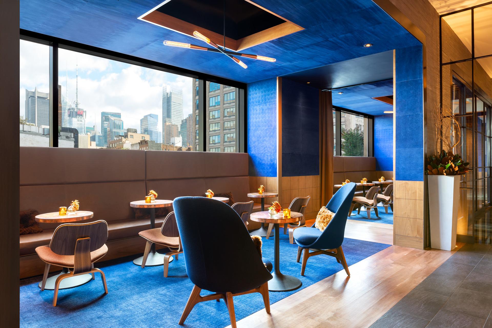 Print Lounge restaurant interiors