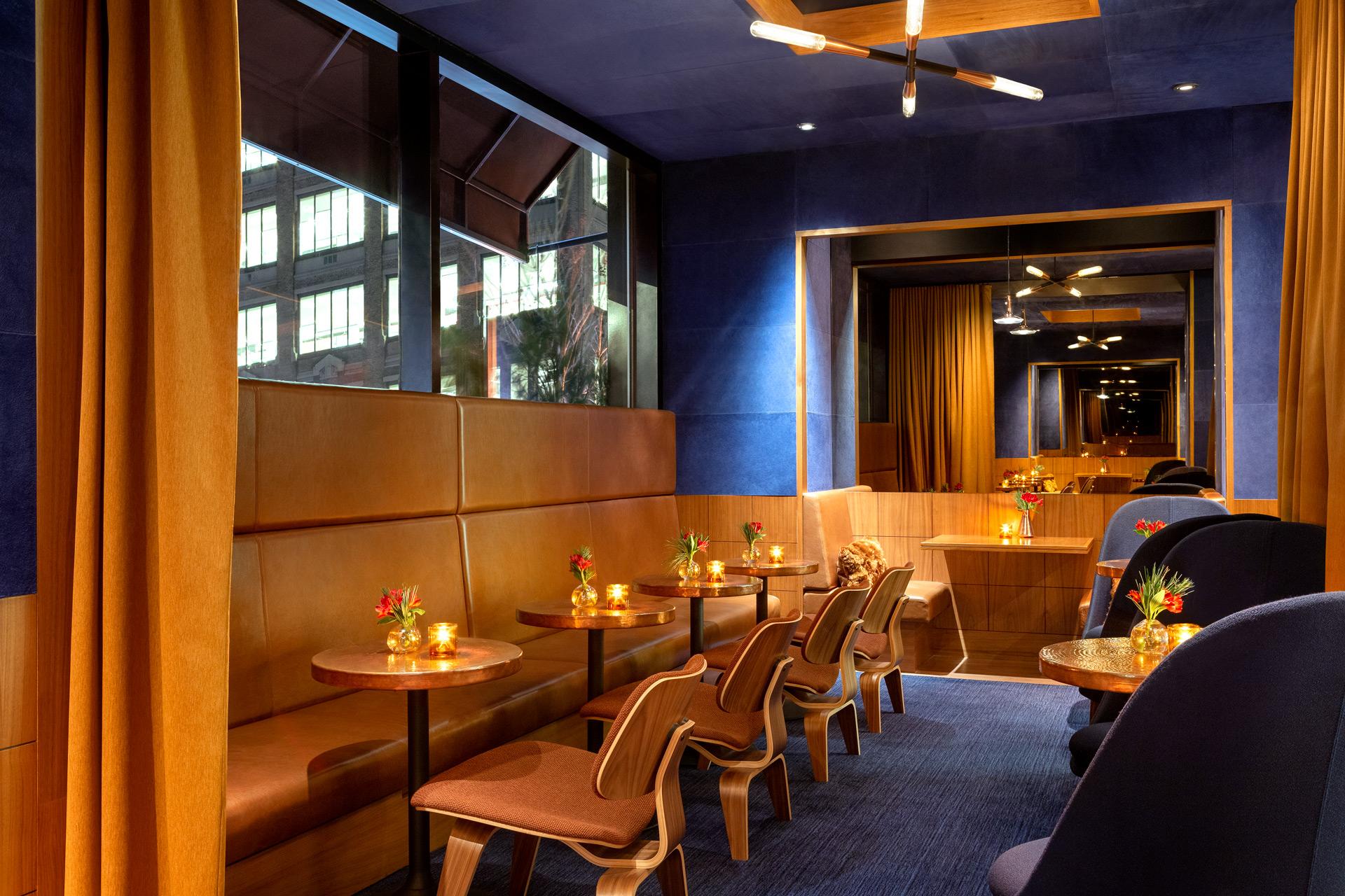 Print Lounge restaurant interiors design