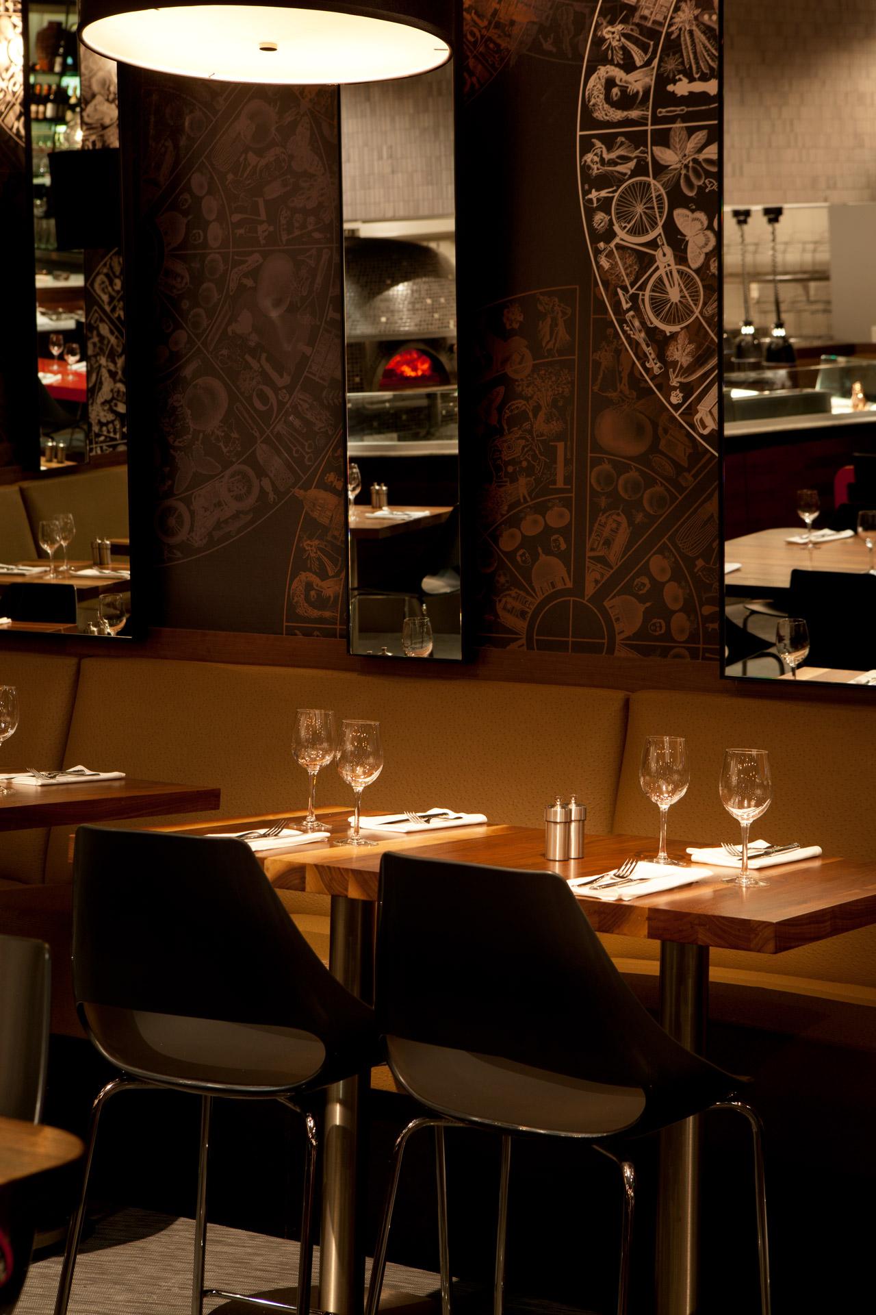 Cupola Pizzeria restaurant architecture