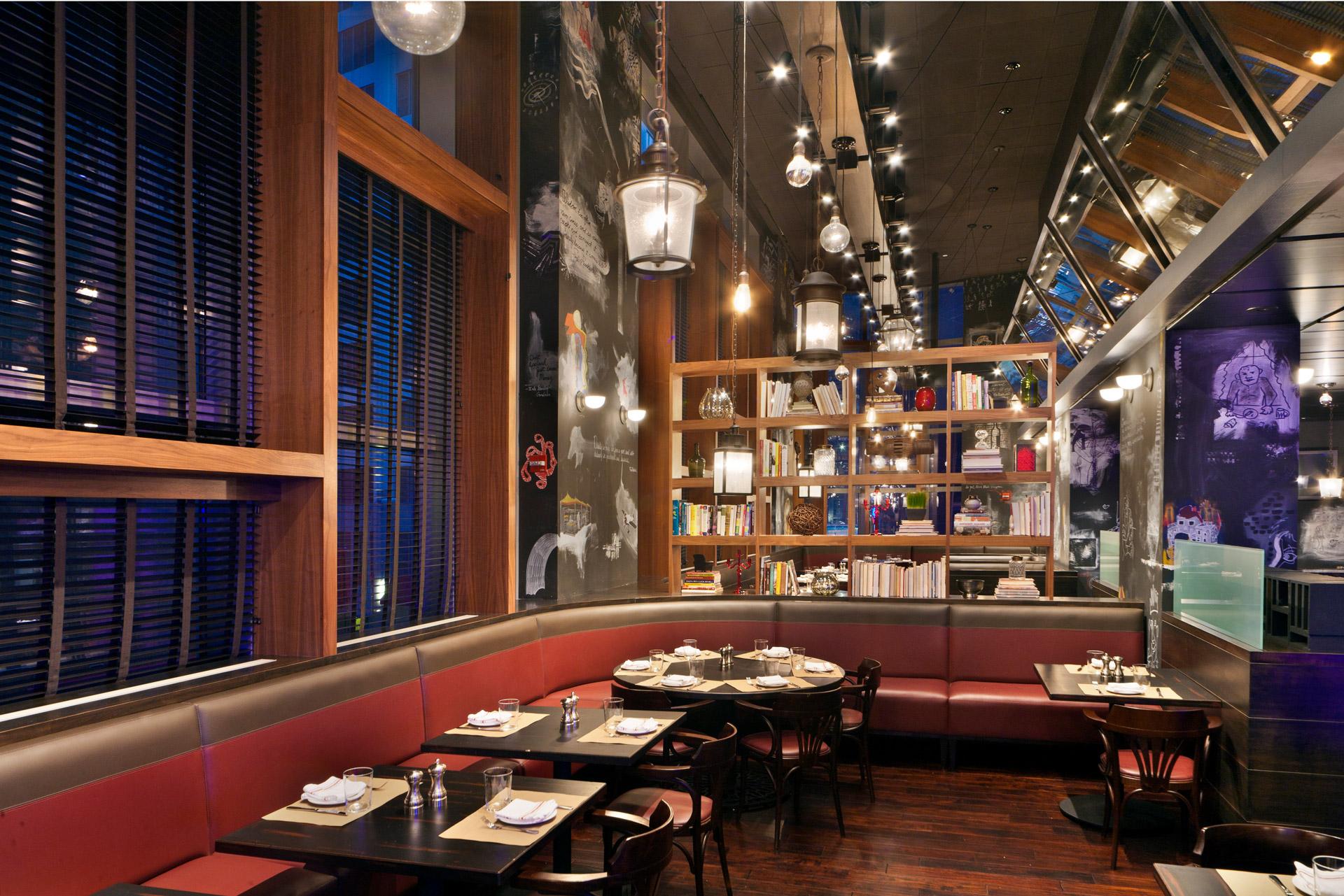 BLT Bar & Grill restaurant design