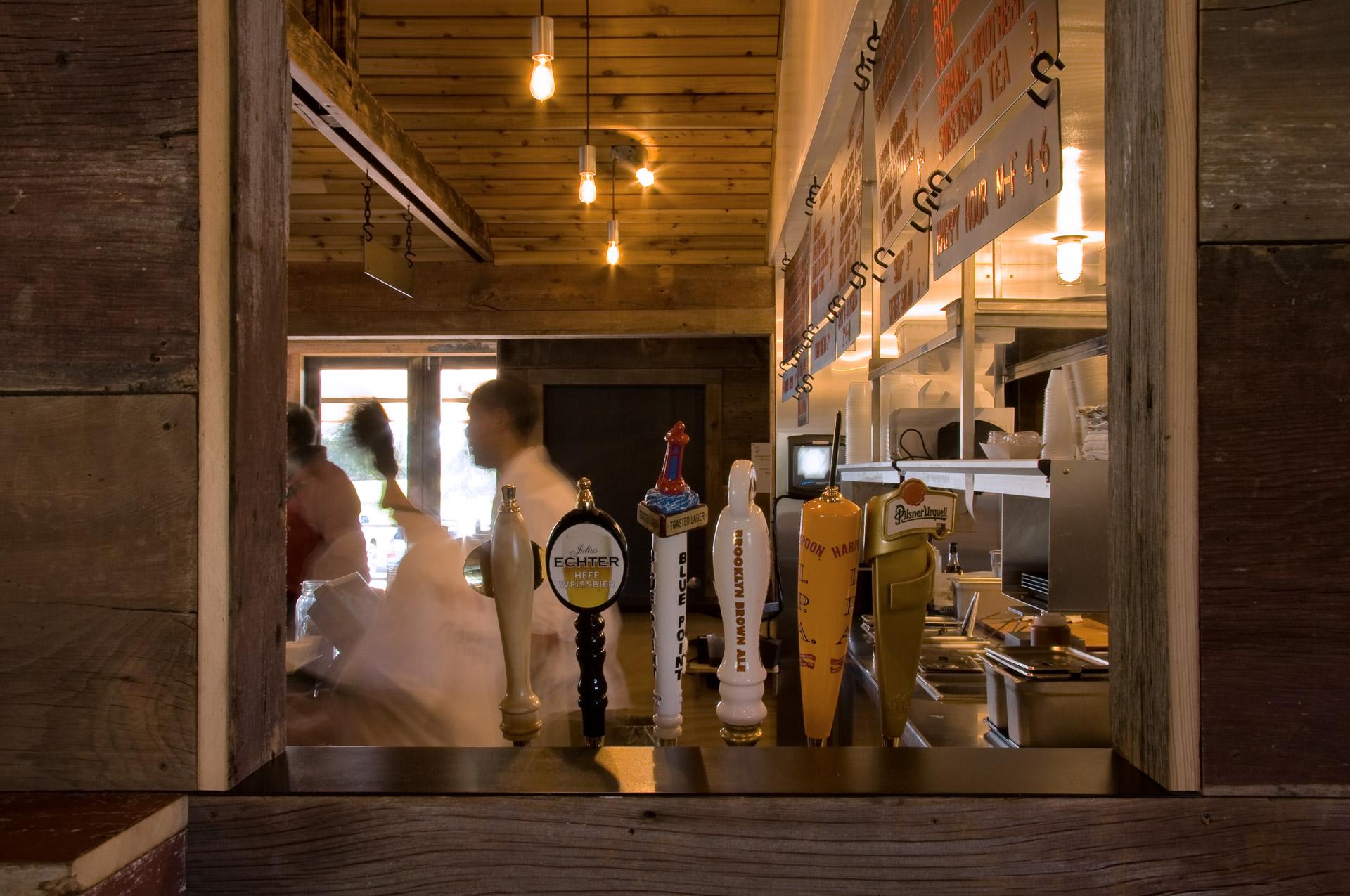 Townline BBQ restaurant interiors