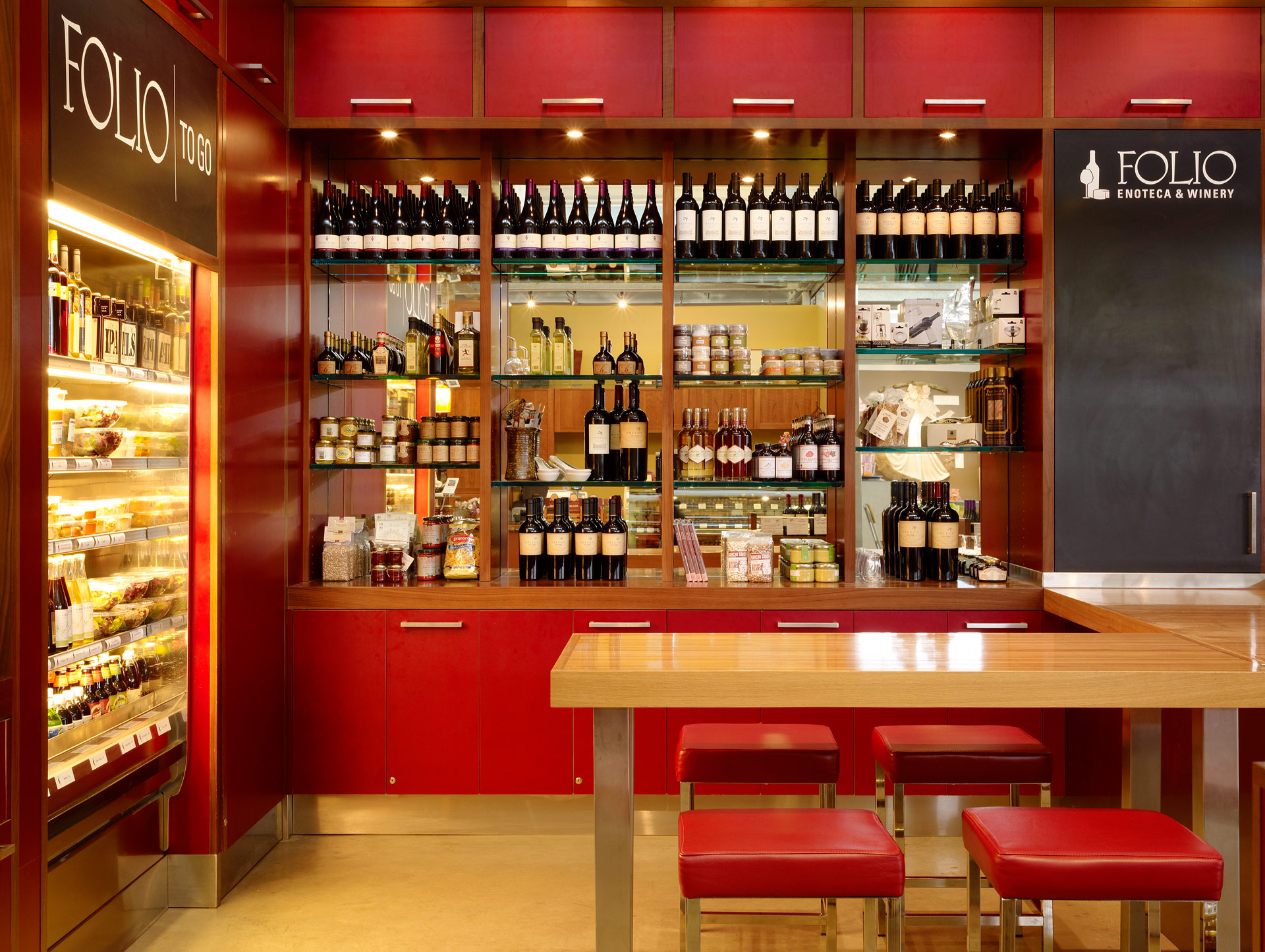 Folio Enoteca & Winery restaurant design