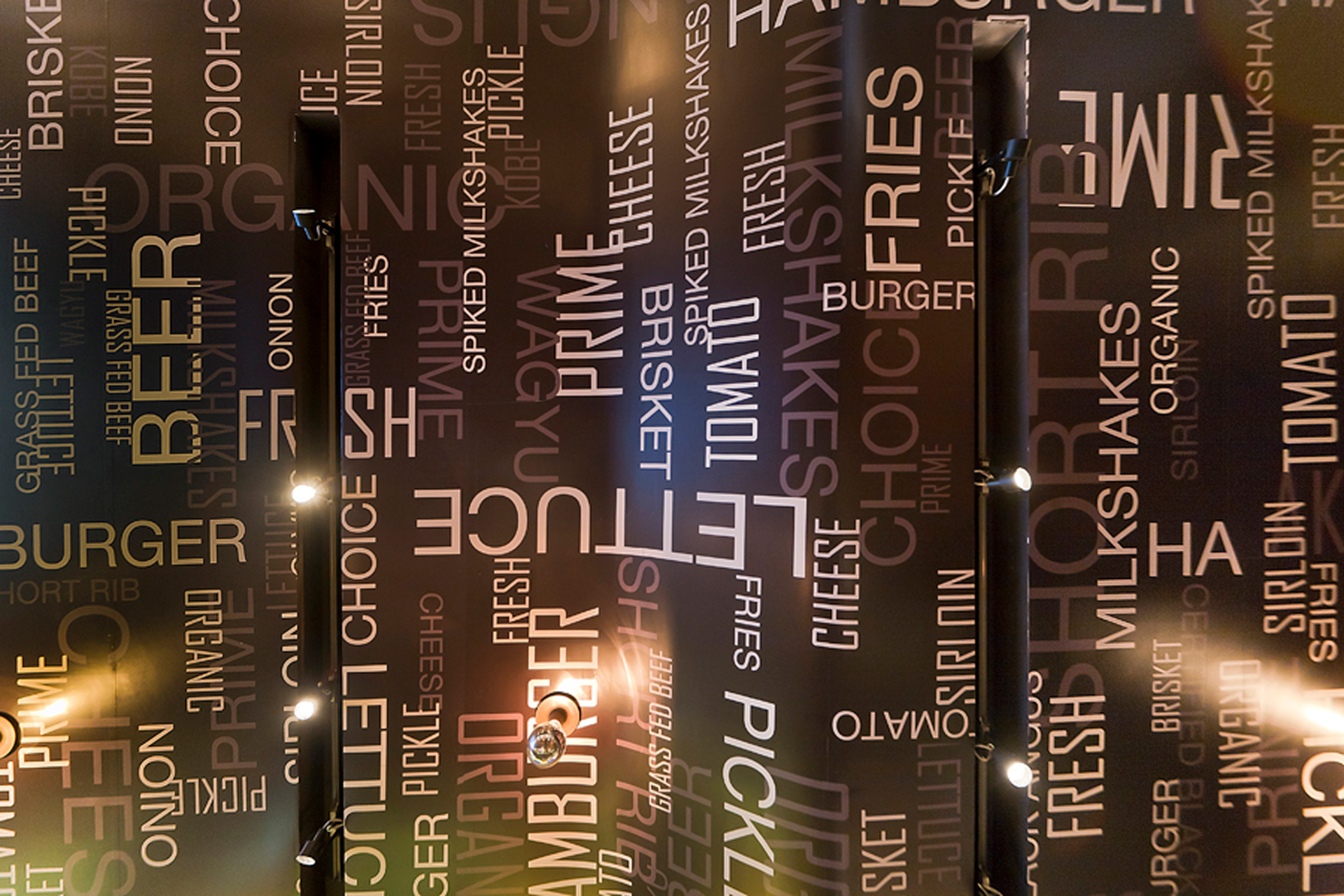 GO Burger NY restaurant design