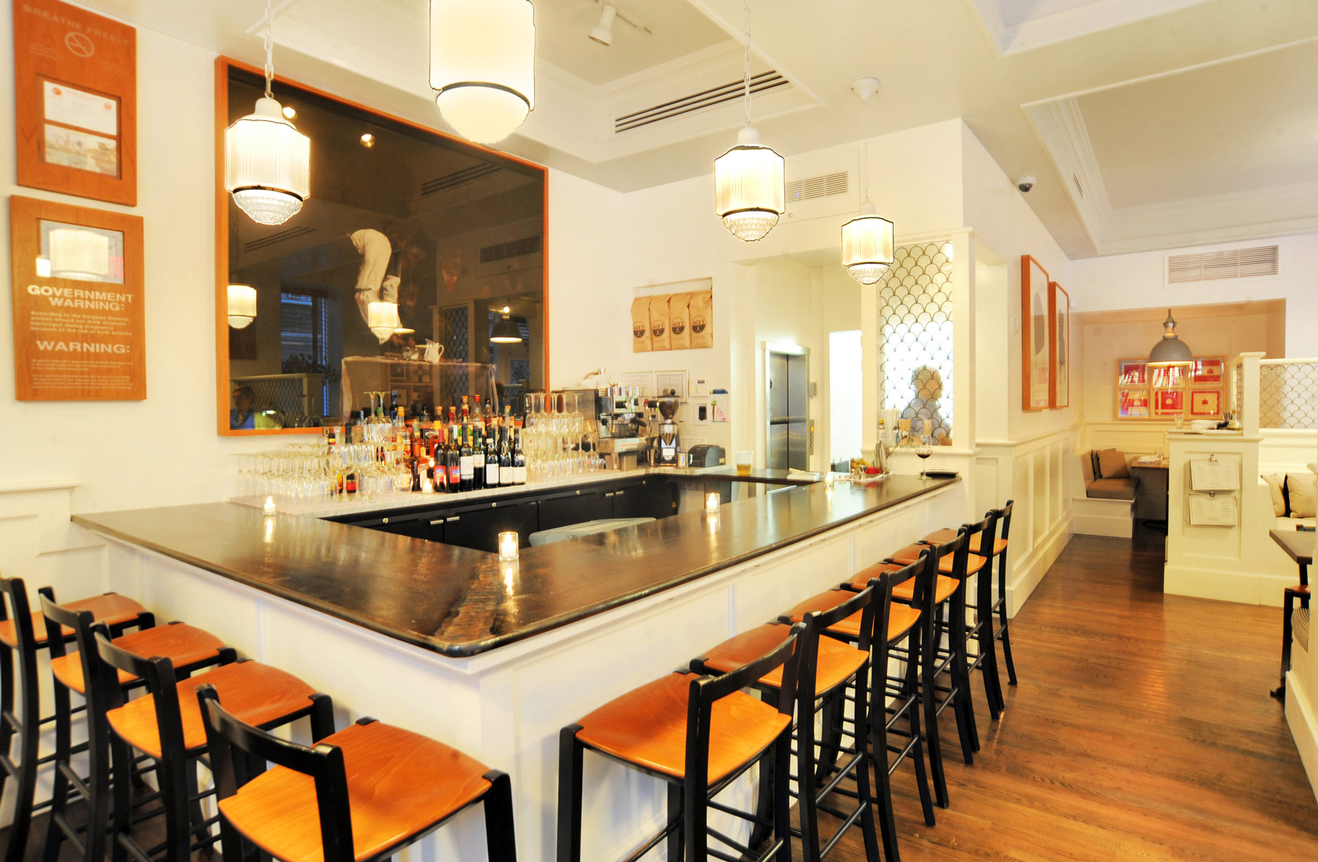 Tremont restaurant designer