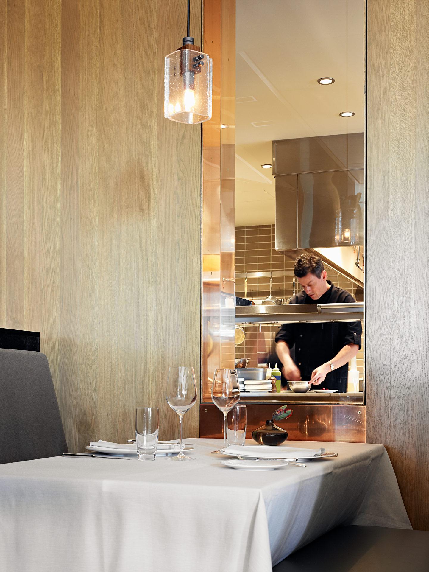 La Toque restaurant designer