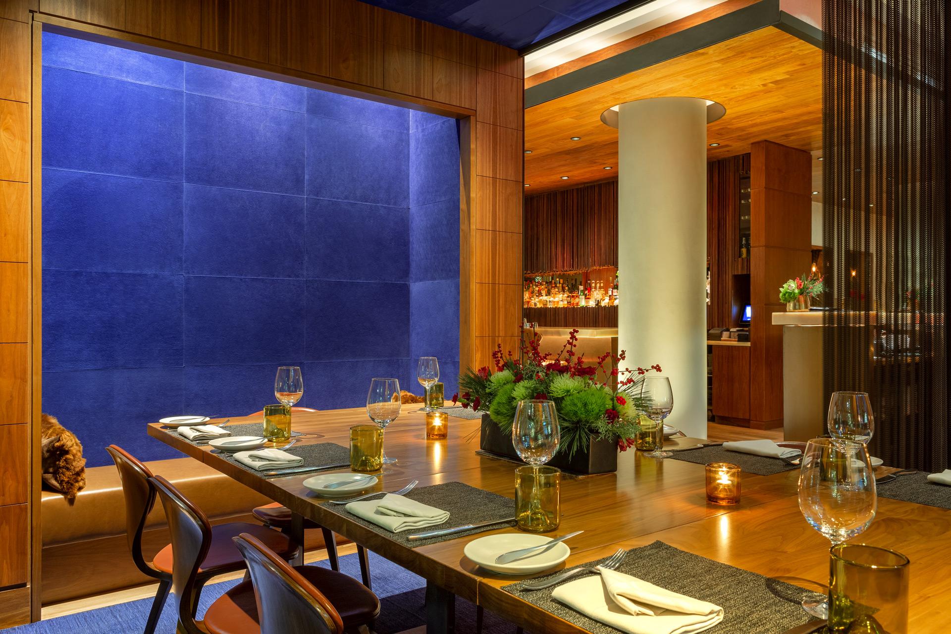 Print Lounge restaurant architecture