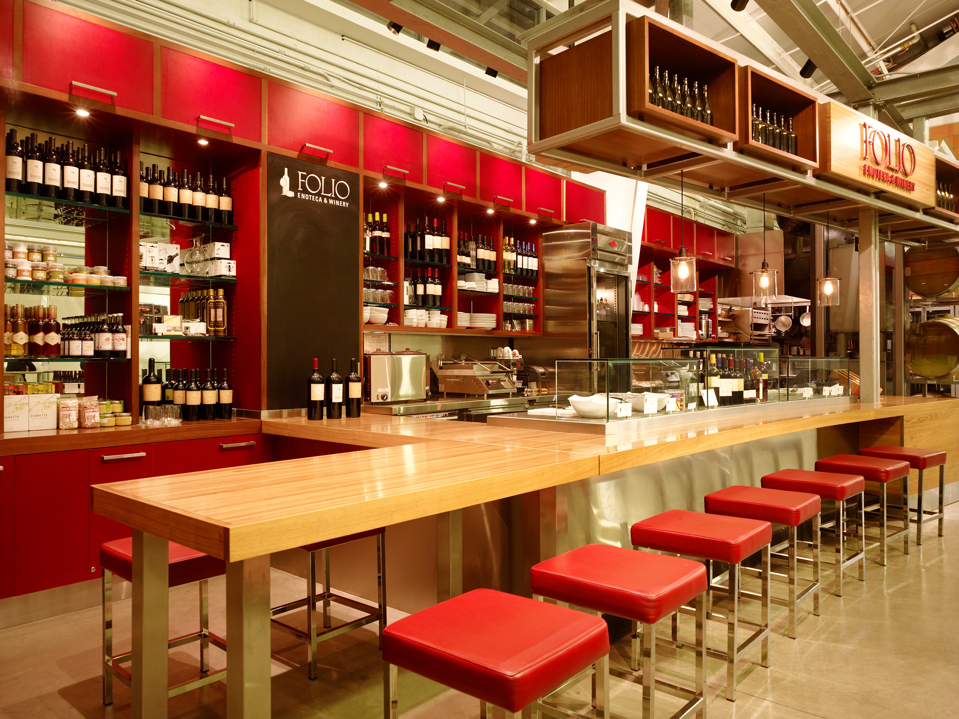 Folio Enoteca & Winery restaurant deign ideas