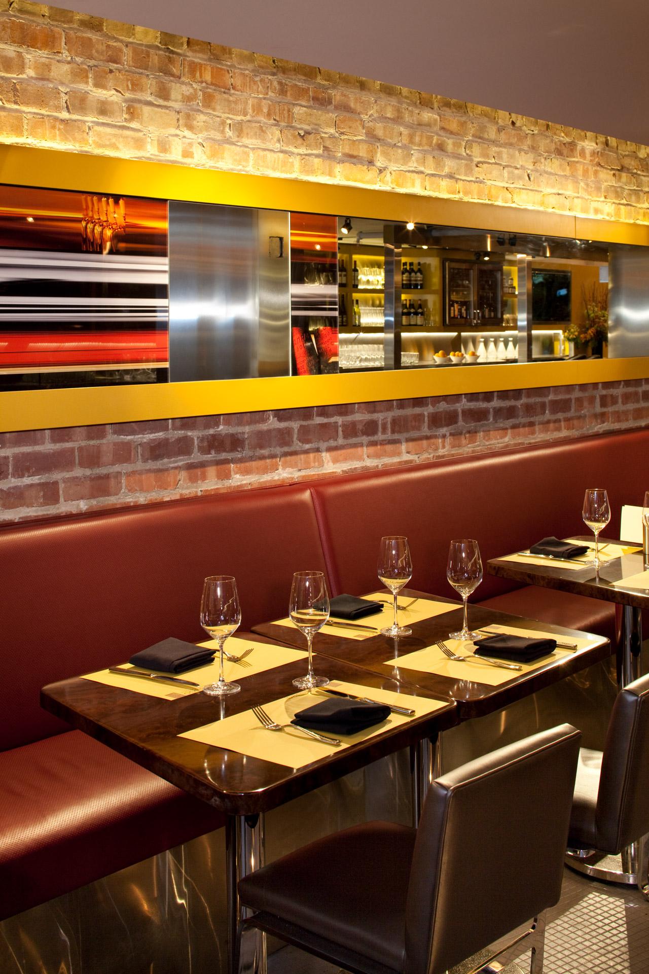 Barbacco restaurant luxury design