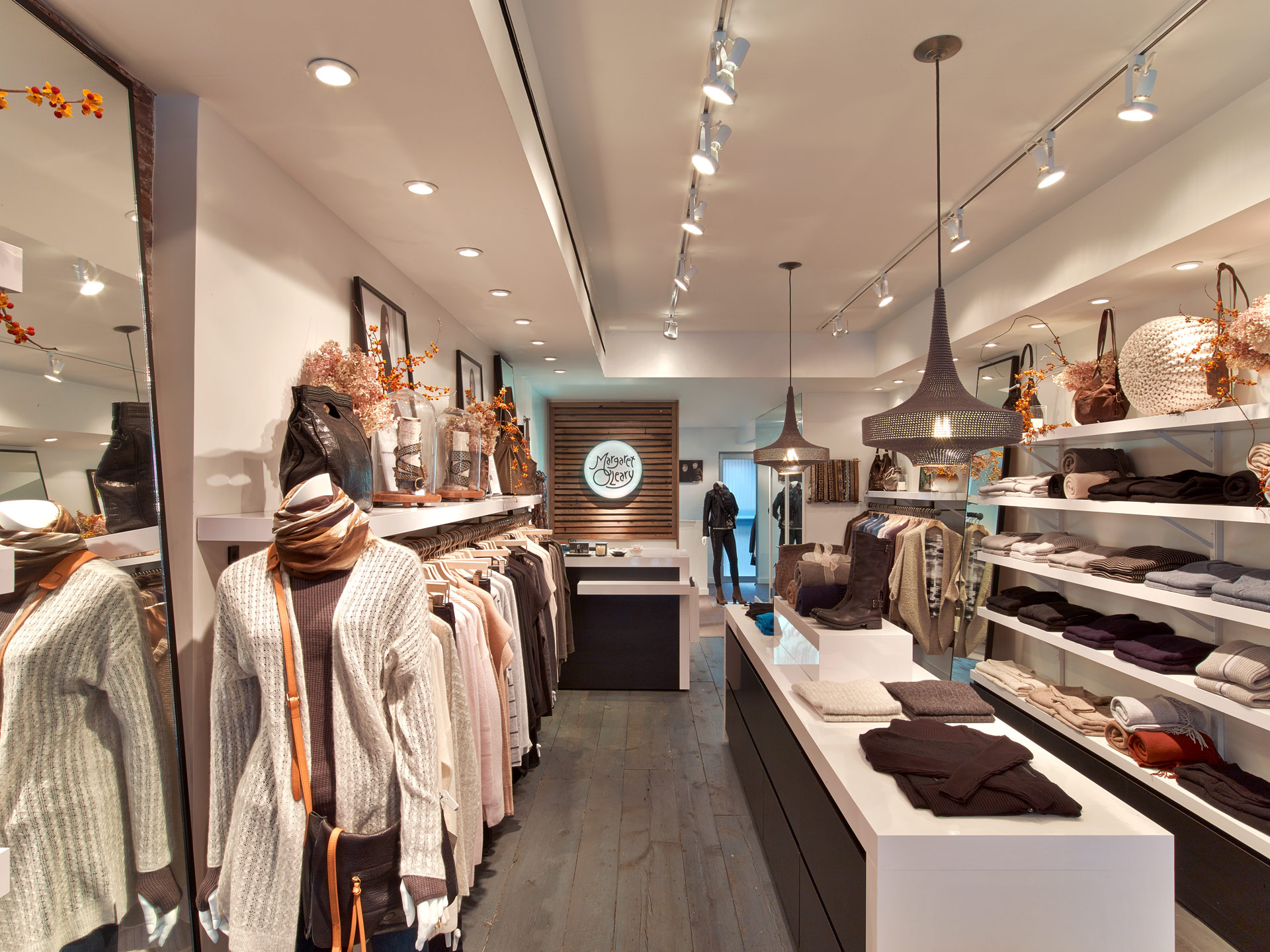 Margaret O'Leary boutique store design