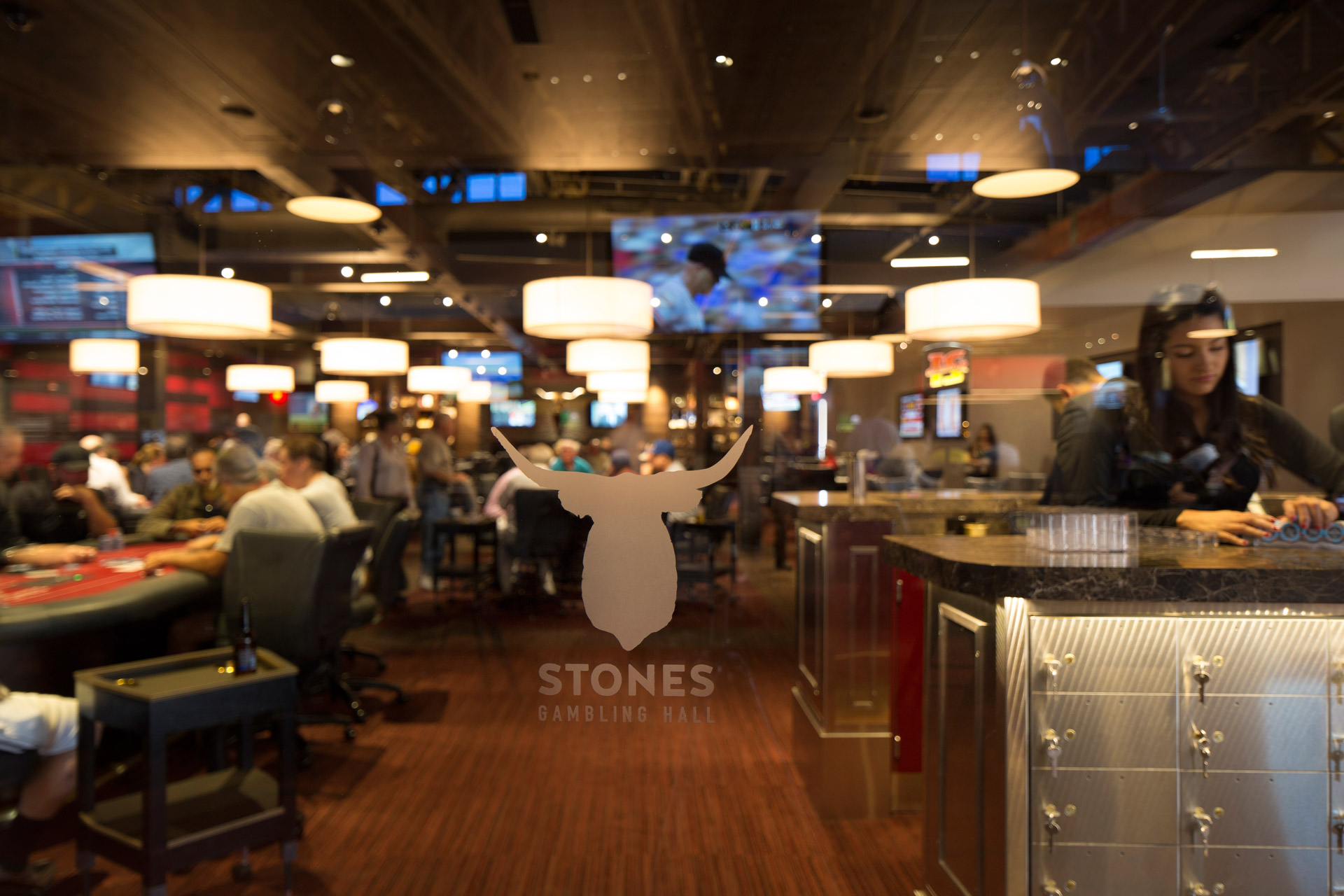 Stones Gambling Hall retail store modern design